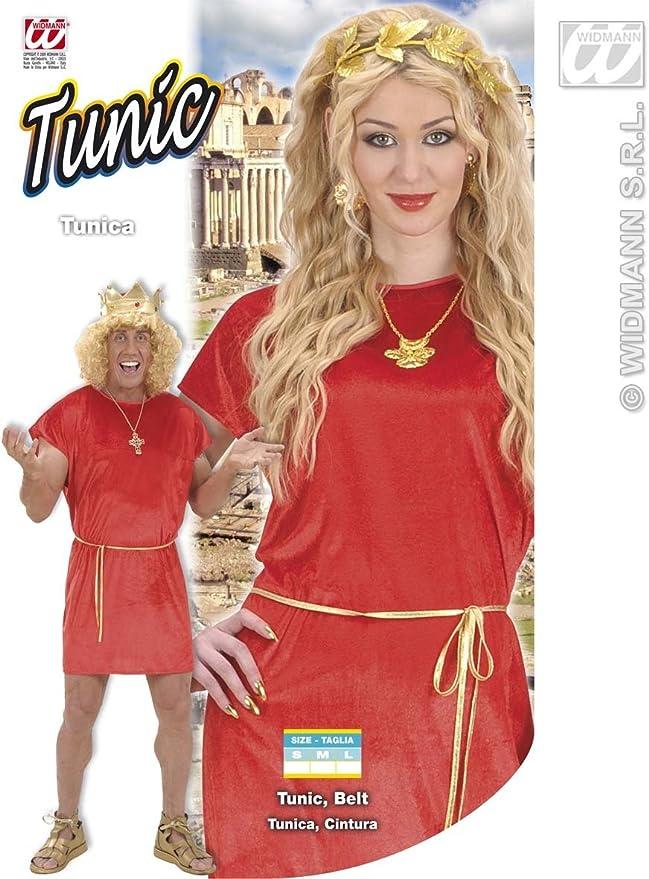 WIDMANN Desconocido Disfraz de Tunica Roja Adulto: Amazon.es ...