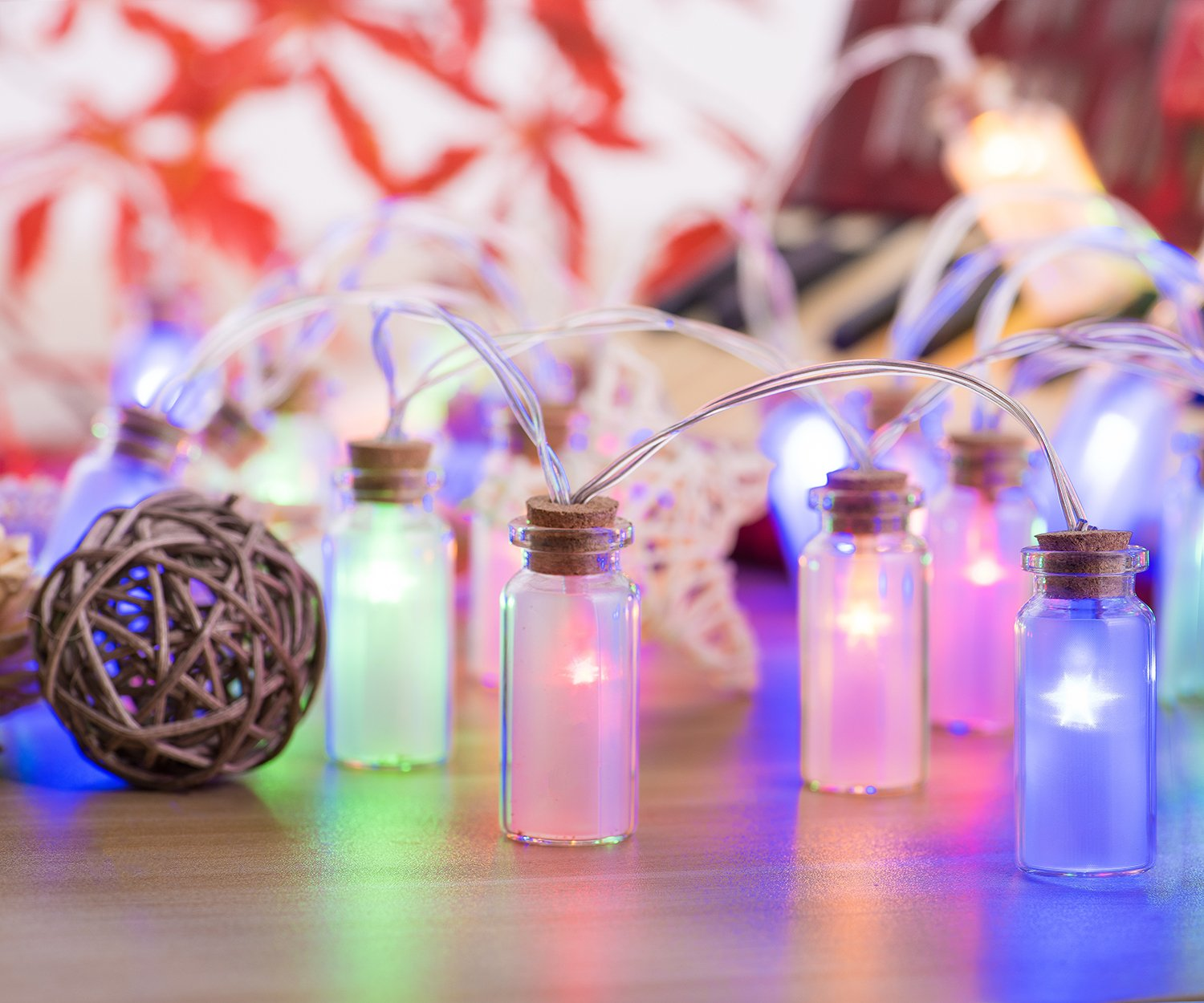 Glass Jar String Lights,