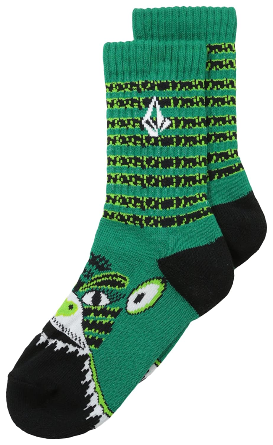 Volcom Big Boys Happy Colors Sock Red One Size Volcom Boys 8-20 F6311401-RED