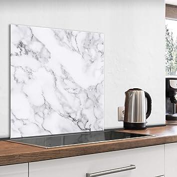 Kitchen Glass Splashback Heat Resistant Toughened Glass 60x65cm 64003599