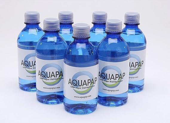Aquapap bottiglie di acqua cpap ml una fornitura di una