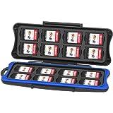 KetenTech Nintendo Switch ゲームカードケース 32枚収納可能 16枚(For Switchゲームカード)+16枚(For Micro SDカード)