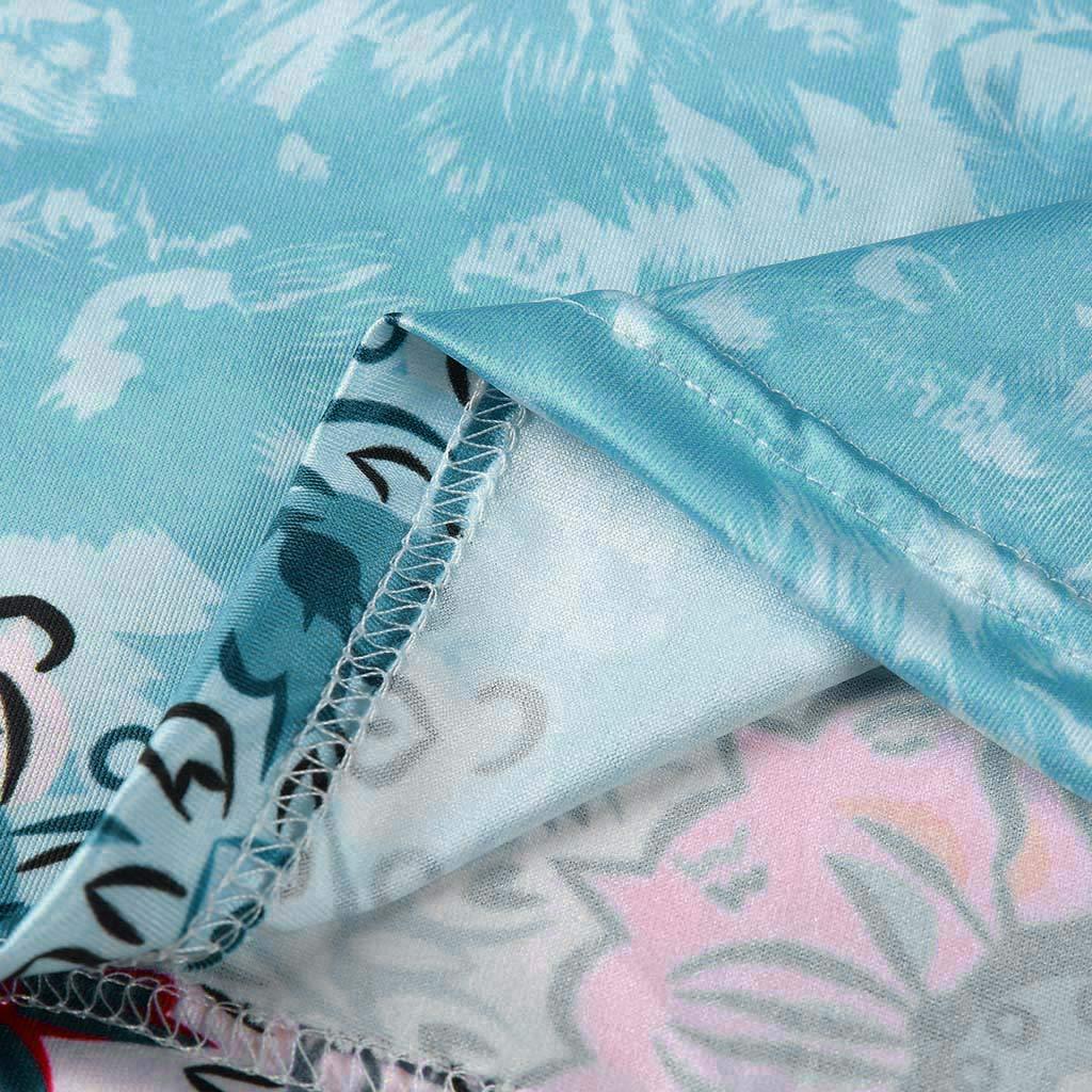 ZEFOTIM ✿ Women Loose Casual Tank Tops Summer Printed Sleeveless Vest Blouse Camis Clothes