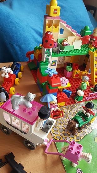 LEGO 2792 Duplo - Casa abierta con dormitorio, cocina y juego de ...