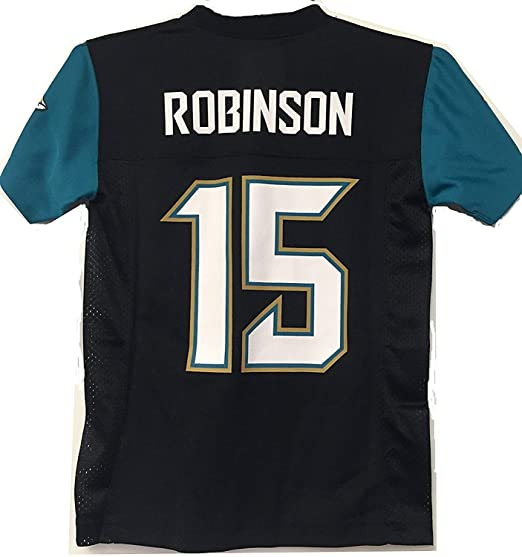 Outerstuff Allen Robinson Jacksonville Jaguars  15 Black Youth Mid Tier Home  Jersey (Large 14 b4206fd4e