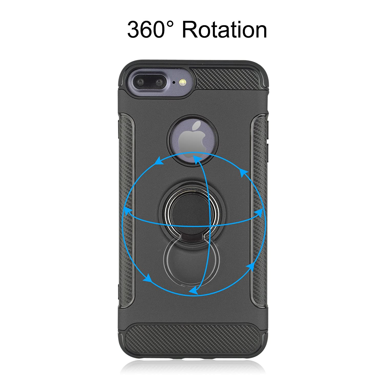 coque iphone 8 360 degrés magnetique