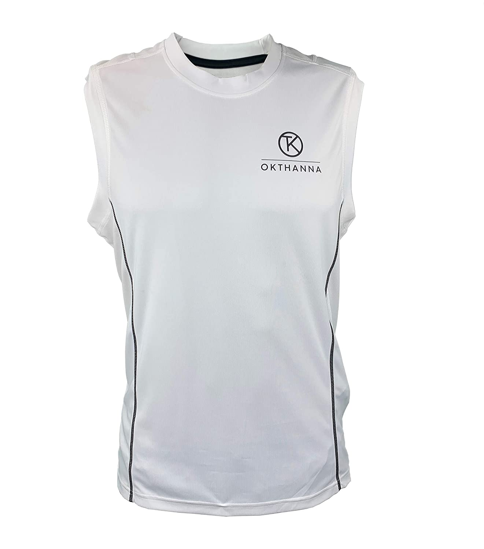 OKTHANNA Camiseta de Hombre sin Mangas Practica Deportes ...
