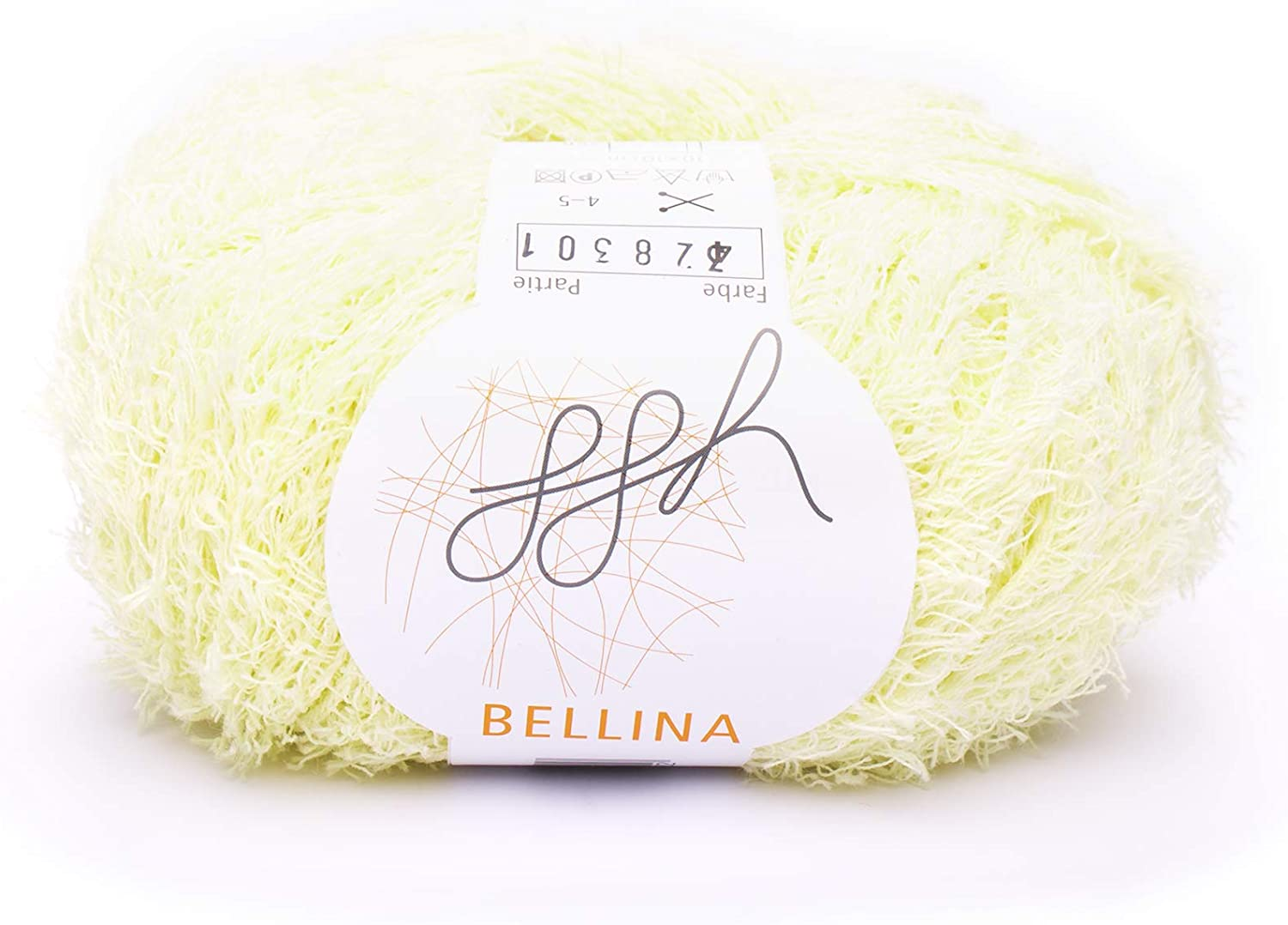 ggh Bellina   32   Light Yellow   Cotton for Knitting and Crocheting