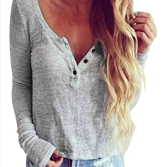 Camisas Otoño Mujer Elegantes Tops Casual Estilo Moderno Tejer Arriba Top  Moda Basic Shirt Moda Joven Moderno Slim Fit Colores Sólidos Cuello Redondo  Manga ... 86865aa1ae13