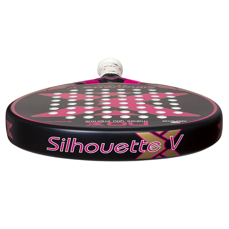 Nox - Pala de pádel de mujer shilouette v: Amazon.es: Deportes y aire libre