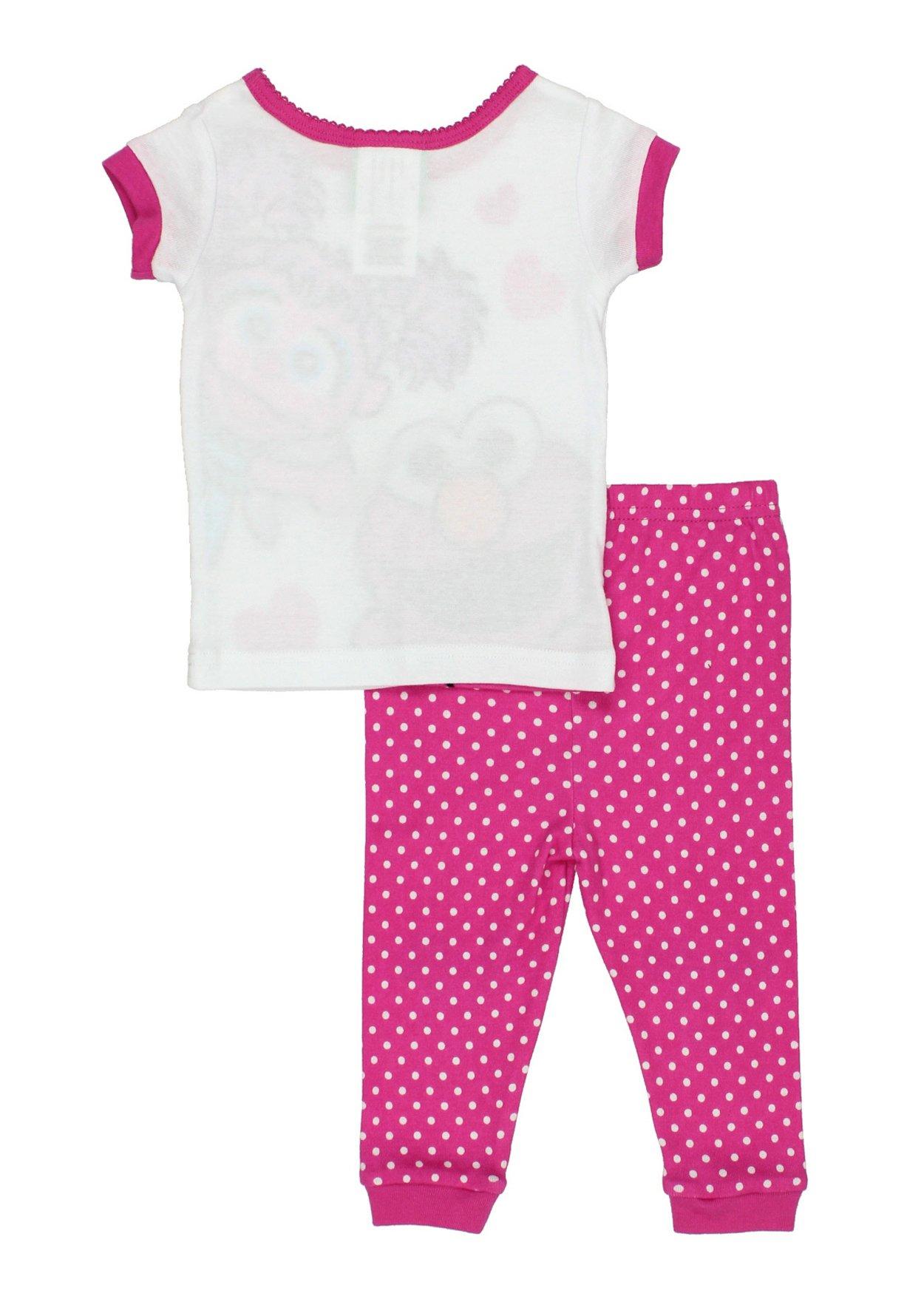 517bbfcf17 Sesame Street Elmo and Abby Cadabby Toddler Girls Cotton Pajamas Set ...