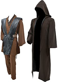 Amazon.com: Hideaway Star Wars Jedi Robe Costume [versión en ...