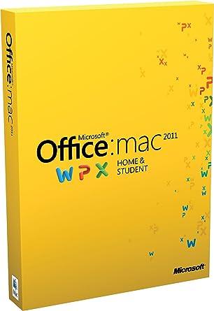 Microsoft Office Mac Home & Student 2011 Family Pack, DE, DVD ...
