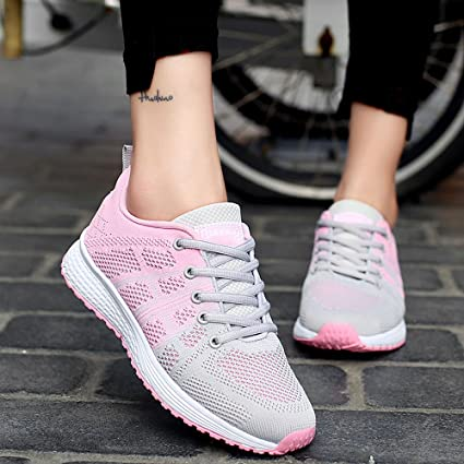Amazon.com: Womens Spring Casual Shoes,CSSD Ladies Lightweight Sneakers Loafers Air Mesh Running Shoes Stylish Athletic Shoes: Clothing