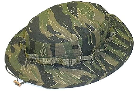 Amazon.com  Military Tactical Dark Tiger Stripe Camo Boonie Hat  Clothing 8beabf9e1c8