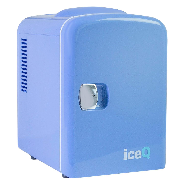 iceQ 4 Litre Small Mini Fridge Cooler - Blue ICEQ4BB
