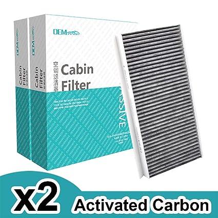 2x Accesorios para automóviles El filtro de aire ...