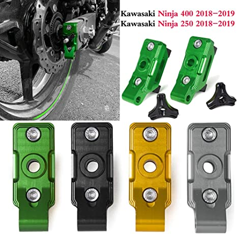 Amazon.com: Motorcycle Accessories Ninja400 CNC Tensioners ...
