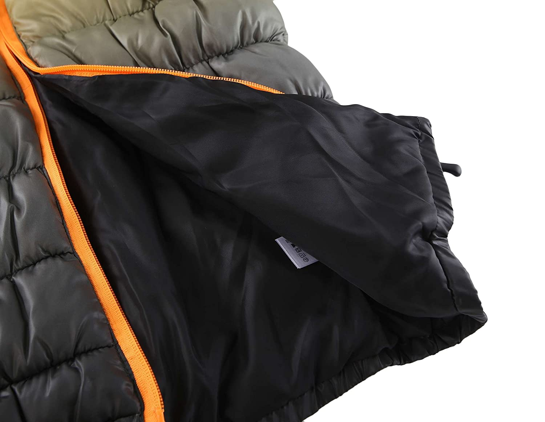 Krumba Junge Reißverschluss vorne Wasserdicht Wasserdicht Wasserdicht Kapuze Puffer Jacke B074699MG5 Jacken Qualität zuerst 190705