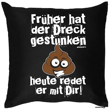 Trag Das Bedrucktes Sprüche Sofa Kissen Früher Hat Der