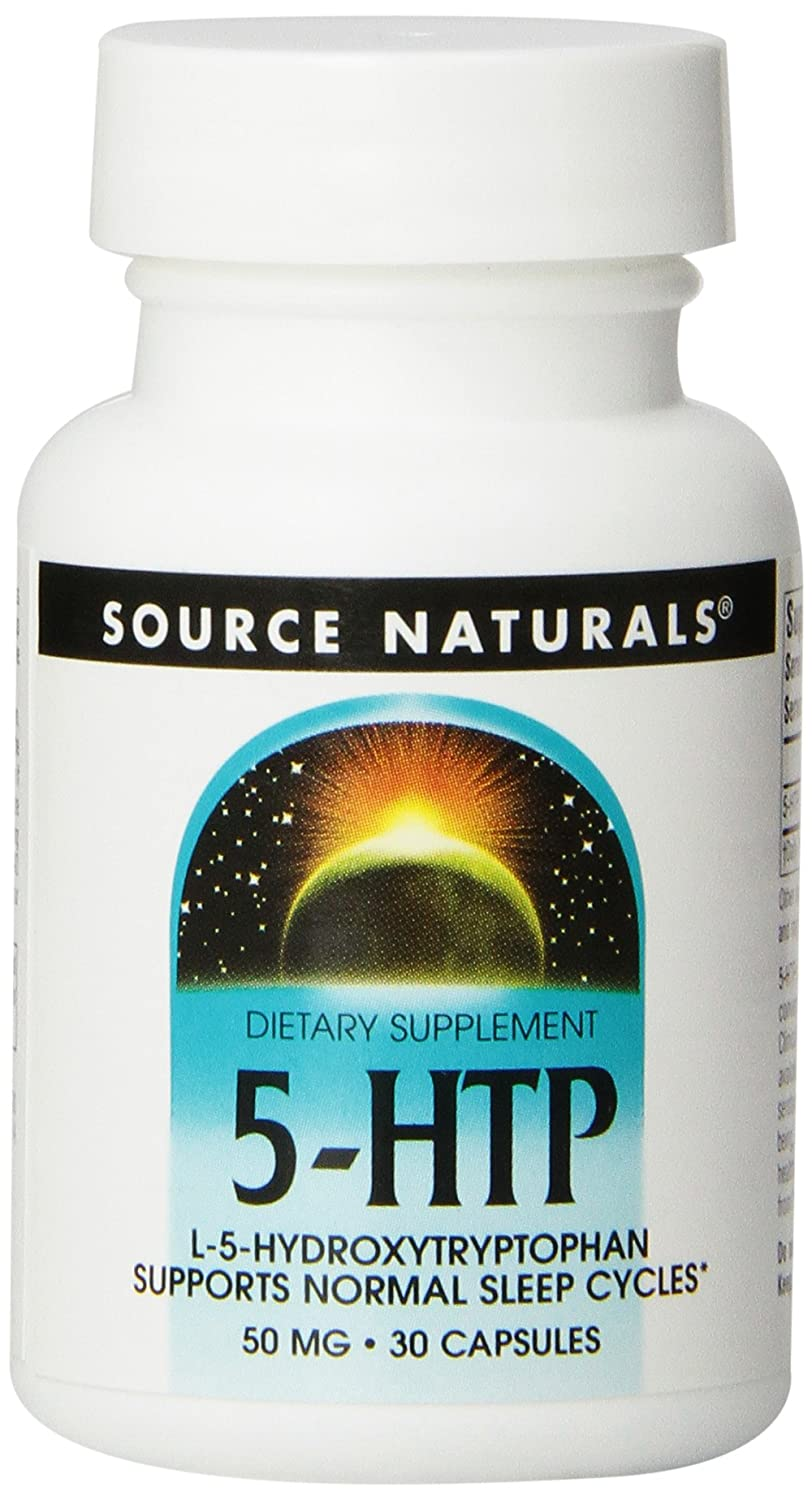 Amazon.com: Source Naturals Serene Science 5-HTP 50mg, Balanced Mood, 30 Capsules: Health & Personal Care