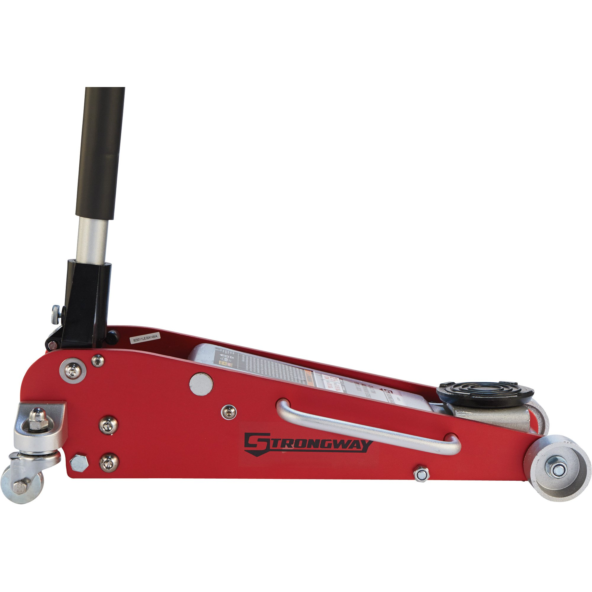 Strongway Hydraulic Aluminum/Steel Quick Lift Service Jack - 2 1/2-Ton Capacity, 3 15/16in.-18 1/8in. Lifting Range