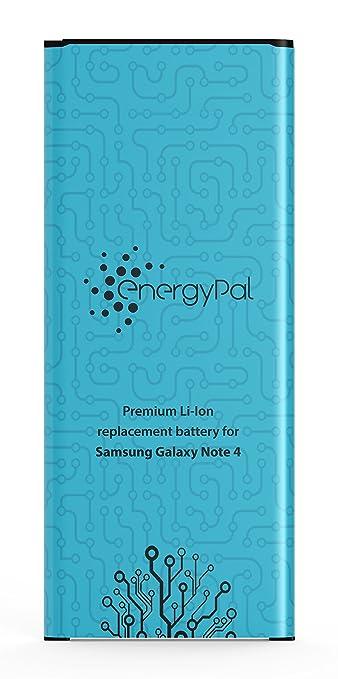 16 opinioni per EnergyPal Batteria Note 4- 3220 mAh Batteria Sostitutiva Li-Ion per Samsung