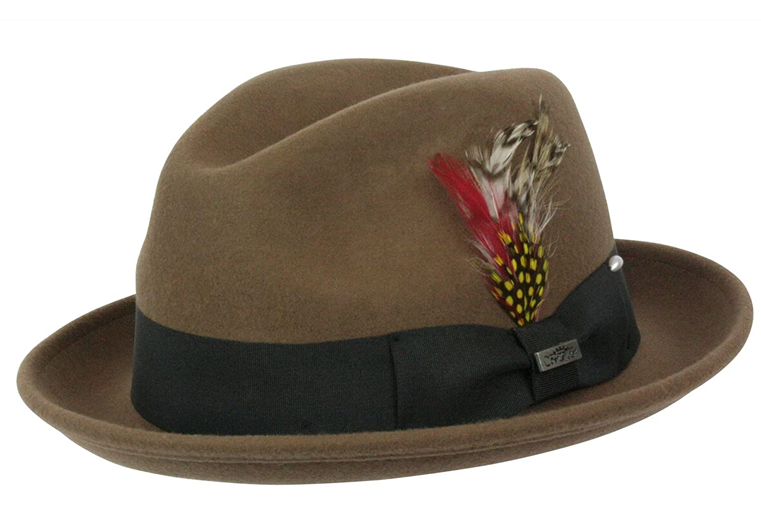 Conner Hats Men's Detroit Fedora Hat C1072