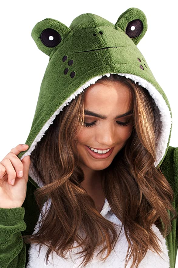 Loungeable Boutique Womens Novelty Animal Onesies at Amazon Womens Clothing store: