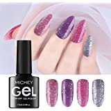 MICHEYGel UV Gel Nail Polish Set with, Gel Nail Polish Kit