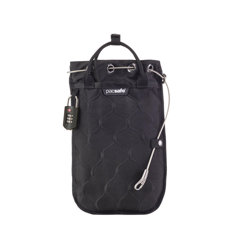 Pacsafe Travelsafe - 3 Liter GII Mobiler Safe mit TSA-Zahlen Schloß, Braun/Utility 10481517