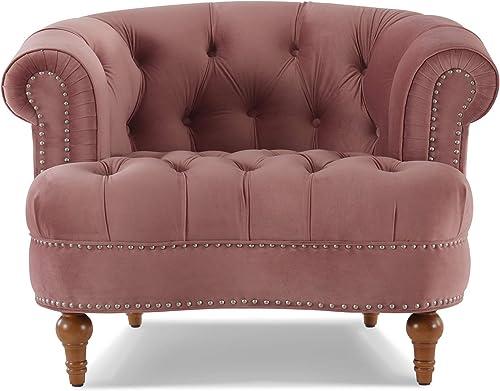 Jennifer Taylor Home La Rosa living-room-chairs, Ash Rose, Ash Rose