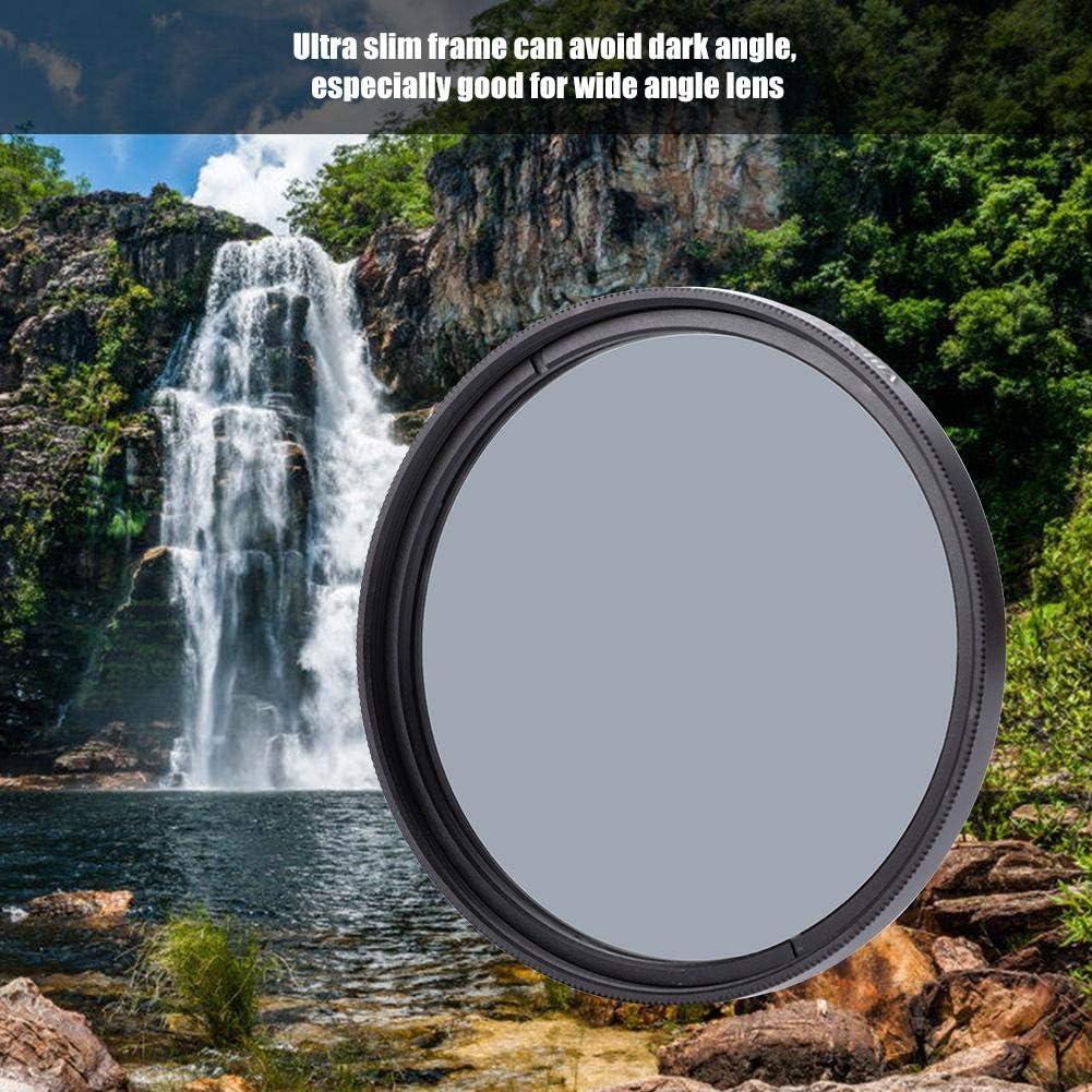 49mm Pbzydu ND2 Filter Ultra Slim Optical Glass Multiple Coated Neutral Density ND2 ND Filter for DSLR
