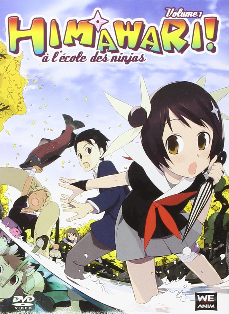 Himawari! à lécole des ninjas - Volume 1 Francia DVD ...
