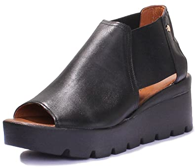 Chaussures à bout rond Justin Reece Casual femme QtH3J