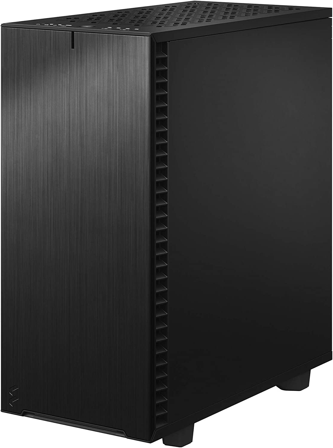 Fractal Design Define 7 Compact Black Brushed Aluminum//Steel ATX Compact Silent Dark Tinted Tempered Glass Window Mid Tower Computer Case
