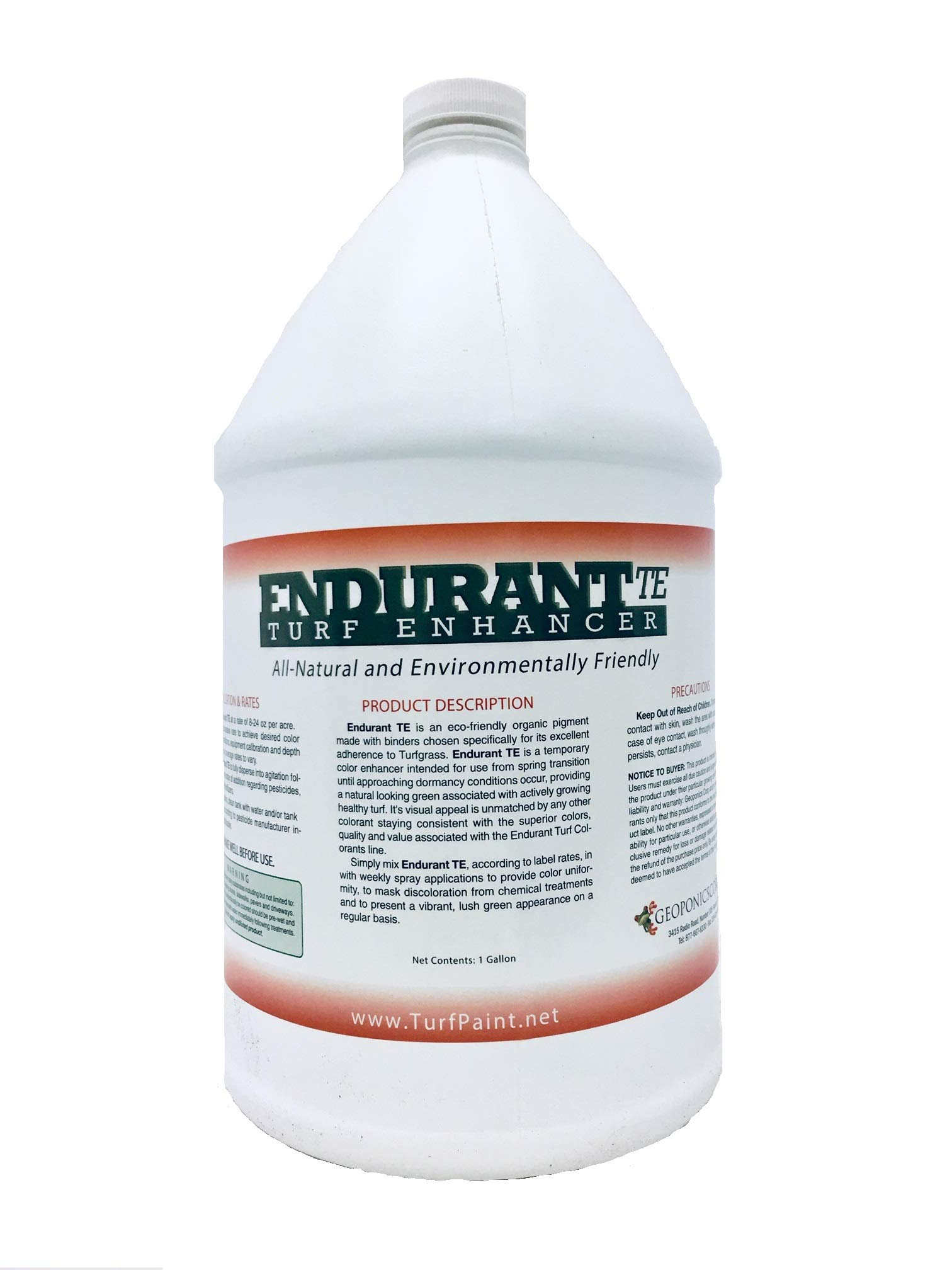 Geoponics Endurant TE (Turf Enhancer) 1 Gallon