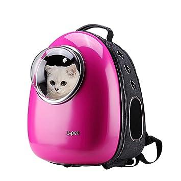 Upet Bubble Design Cat Dog Puppy Pet Travel Backpack Carrier,Rose ... 13f2791cd4