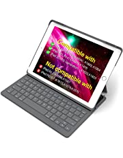 "Inateck iPad Keyboard Case for 9.7"" iPad 2018(Gen 6)/iPad 2017(Gen 5) and iPad Air 1 with Intelligent Magnetic Switch iPad Keyboard Cover, Dark Grey"