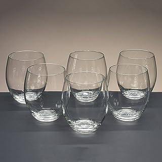 Caja de 6 Vasos Bajos de Cristal para Whisky o Agua, colección Magnifico, 10,4 cm. de Altura. colección Magnifico la galaica
