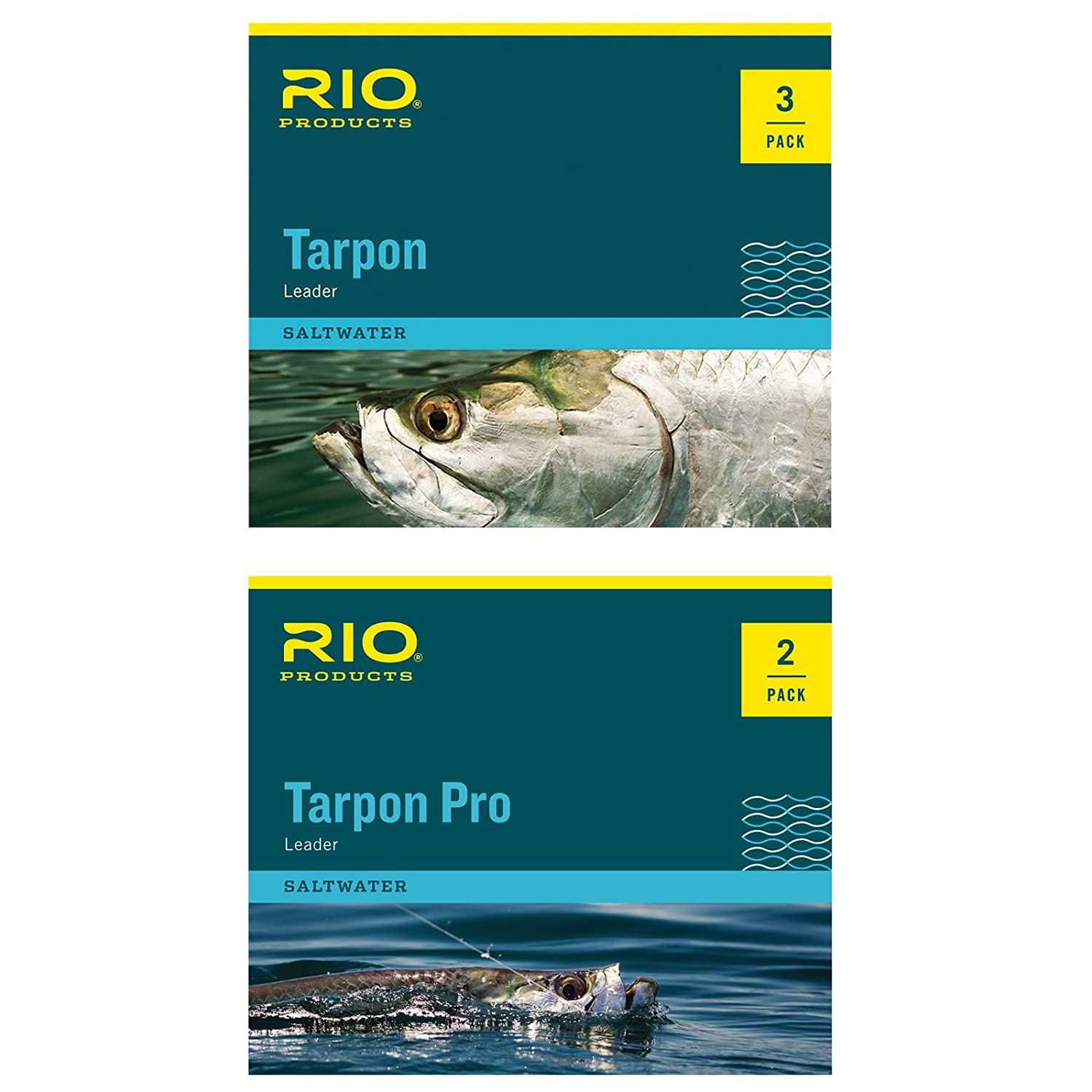 Amazon rio pro tarpon tapered fly fishing line leader amazon rio pro tarpon tapered fly fishing line leader fluorocarbon shock 2 pack sports outdoors nvjuhfo Images