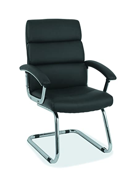 amazon com hon traction high back modern guest chair leather