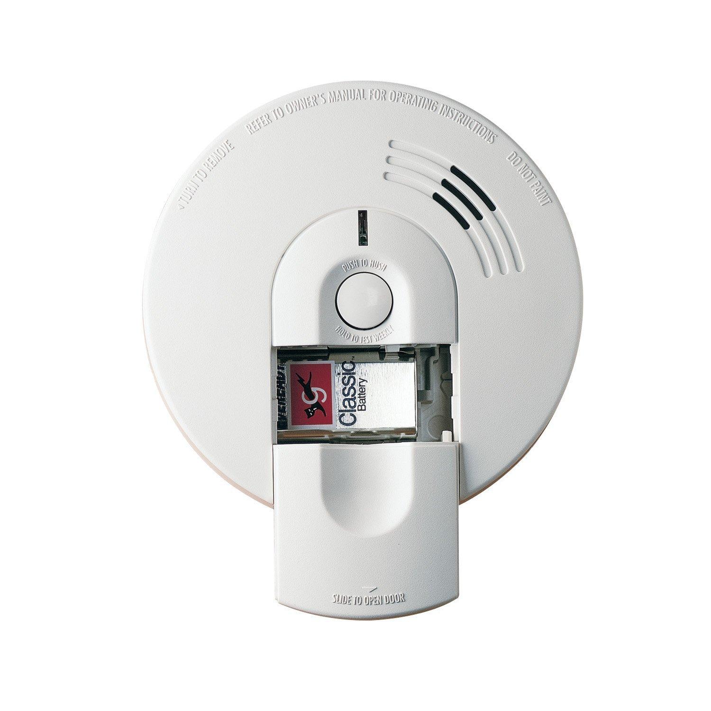 KIDDE i4618 Hardwired Ionization Smoke Alarm with Battery Back Up ...