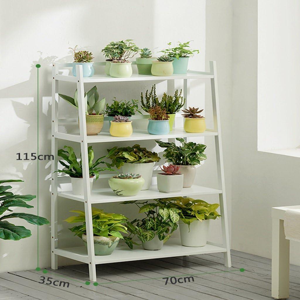 Wghhjz Blumen Regal Balkon Küchen Badezimmer Wohnzimmer