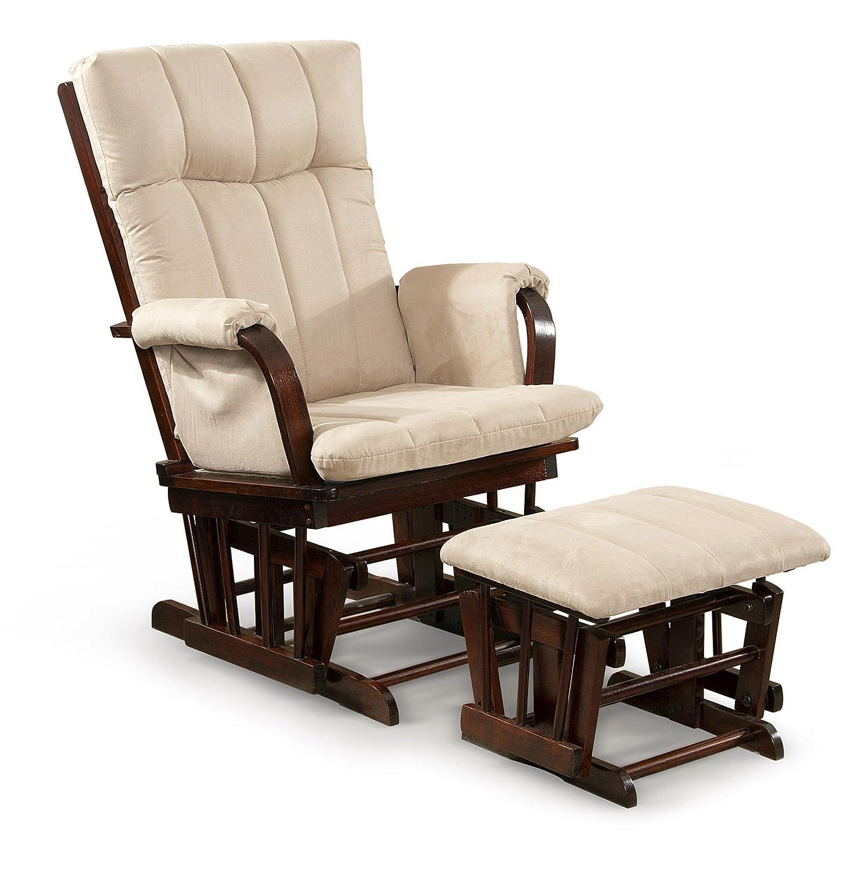 Amazon.com: Artiva USA Home Deluxe Microfiber Cushion Cherry Wood ...
