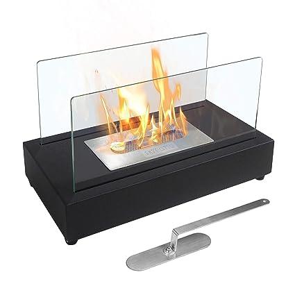 Amazon Com Skypatio New Tabletop Fireplace Heater Indoor Outdoor