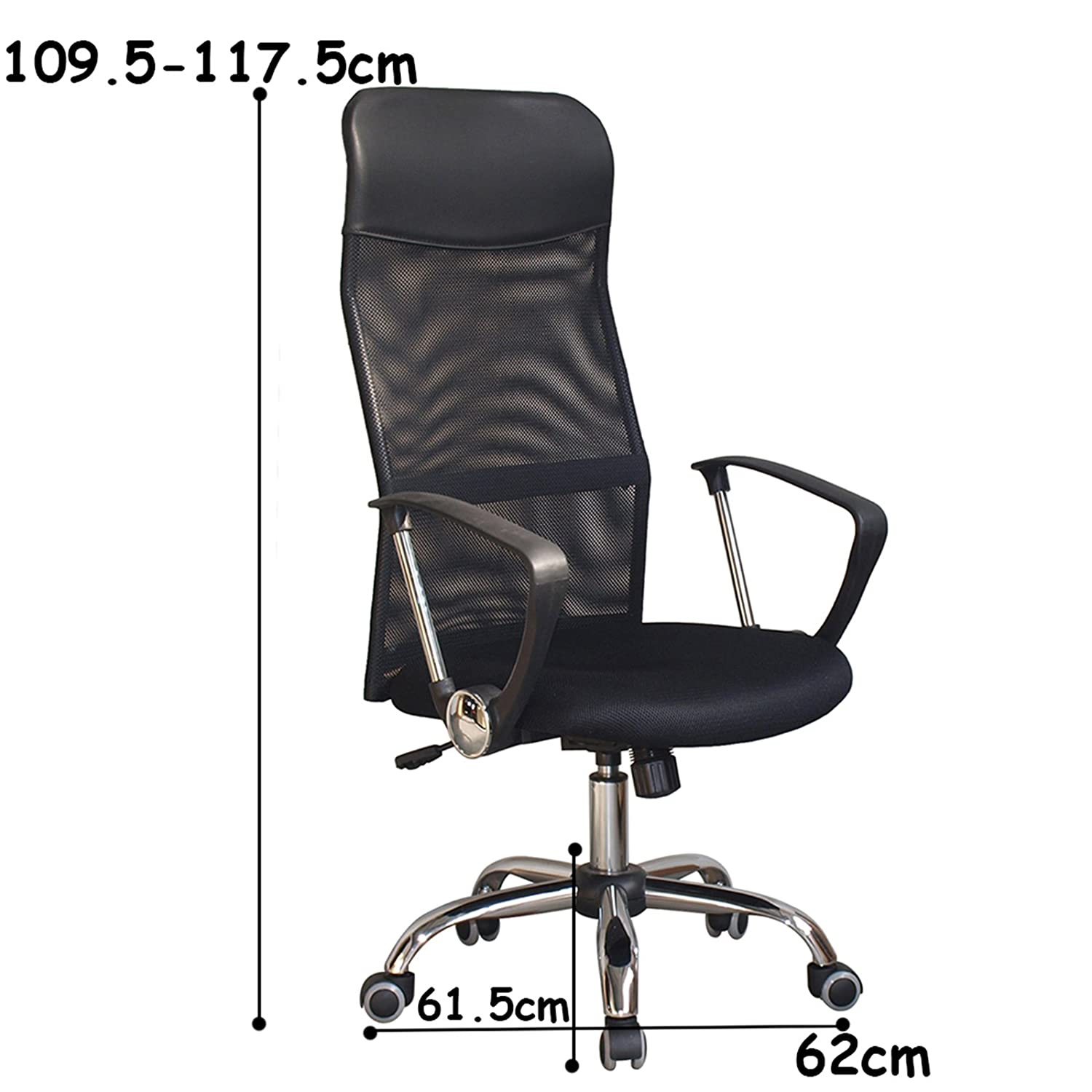 Amazon Super fortable fice Chair in Black High Back