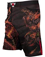 Raven Fightwear Men's Fire Element MMA Fight Shorts