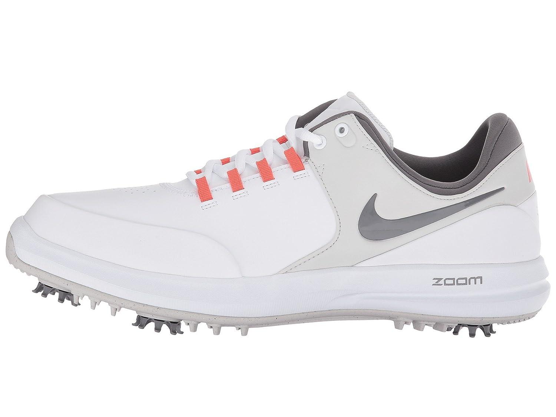 NIKE Zoom Accurate Golf Shoes 2018 B00AW0L5LG 10 D(M) US|White/Gunsmoke/Rush Coral/Vast Gray