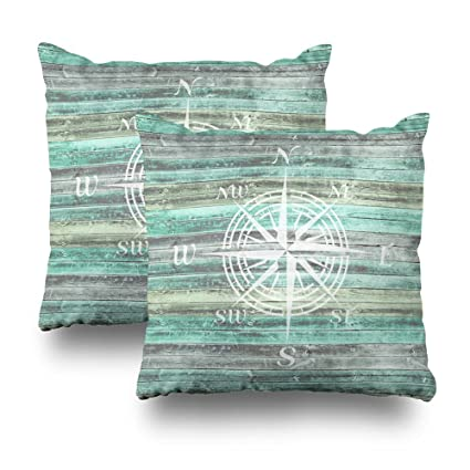 Amazon Soopat Decorative Pillow Cover Pack Of 40 40X40 Two New Coastal Decorative Pillows